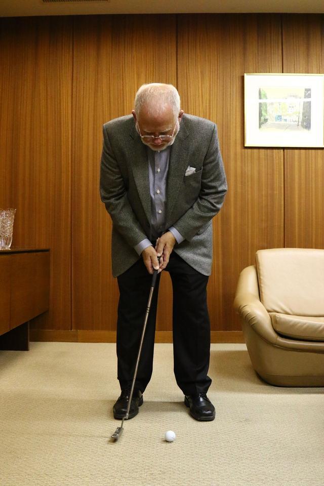 画像: ピンの会長に直撃取材!「アンサーって、どうやって打つの?」 - みんなのゴルフダイジェスト