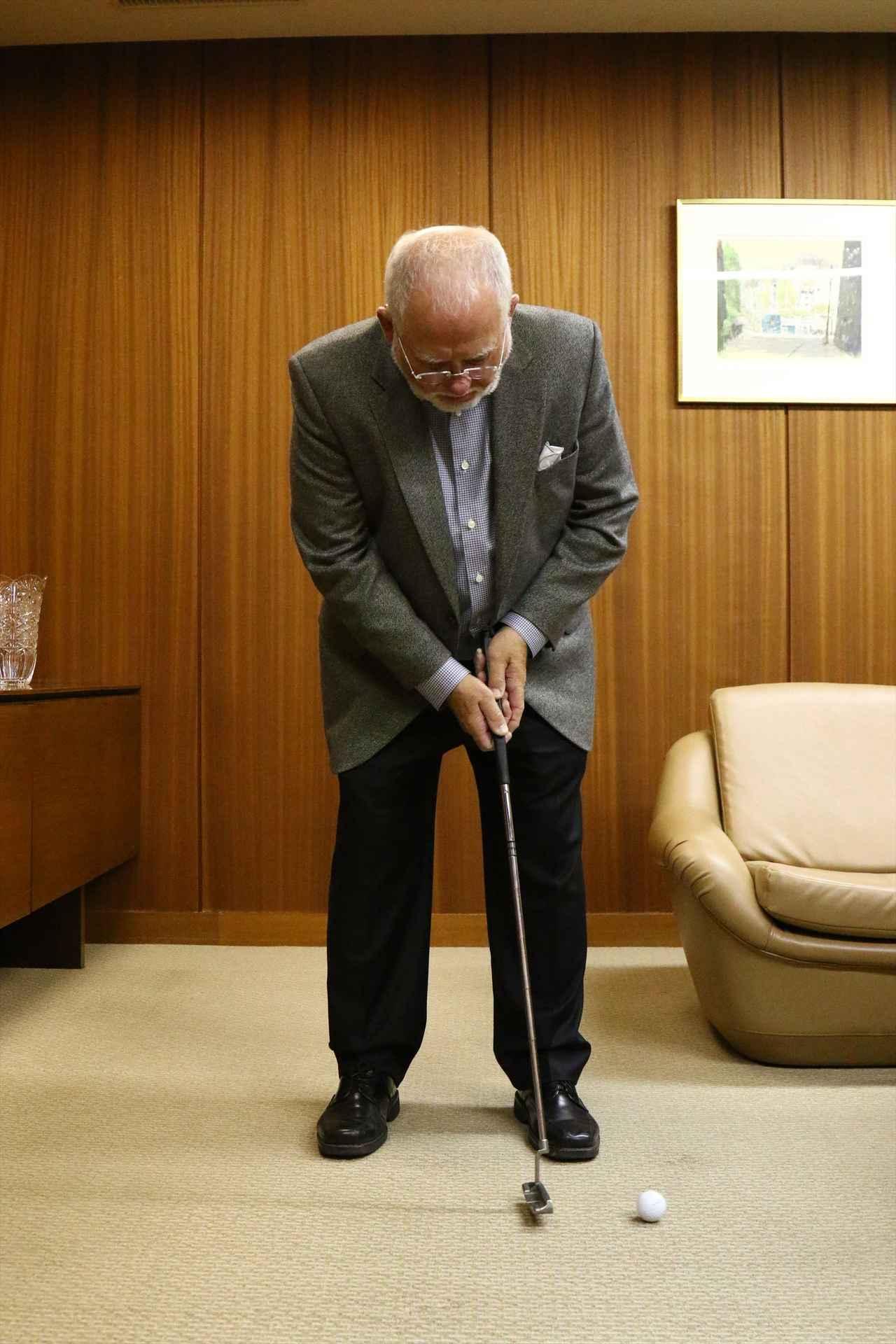 画像6: ピンの会長に直撃取材!「アンサーって、どうやって打つの?」