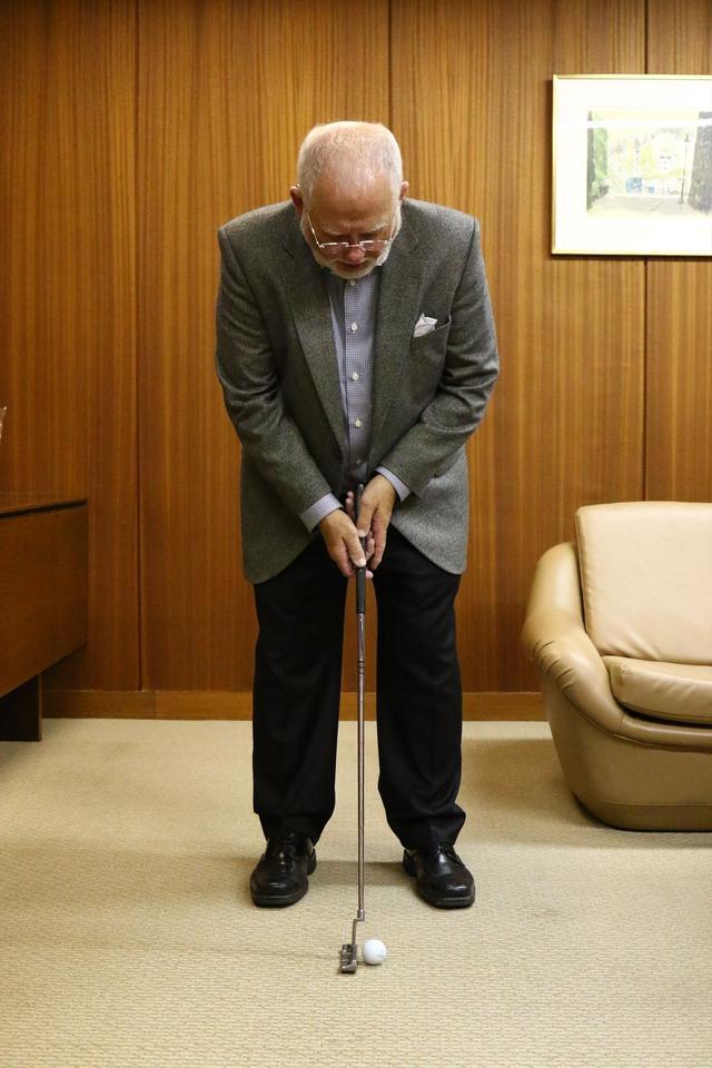 画像1: ピンの会長に直撃取材!「アンサーって、どうやって打つの?」