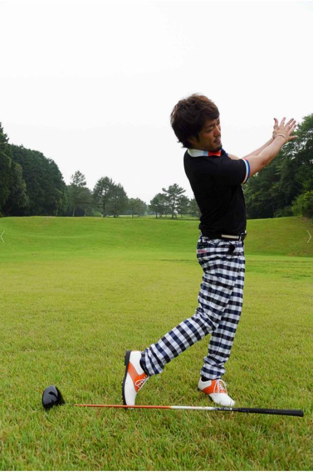 画像4: 「杖ドリル」で正しい体重移動を身につける! ジェイソン・デイの同級生、秘密のドリル