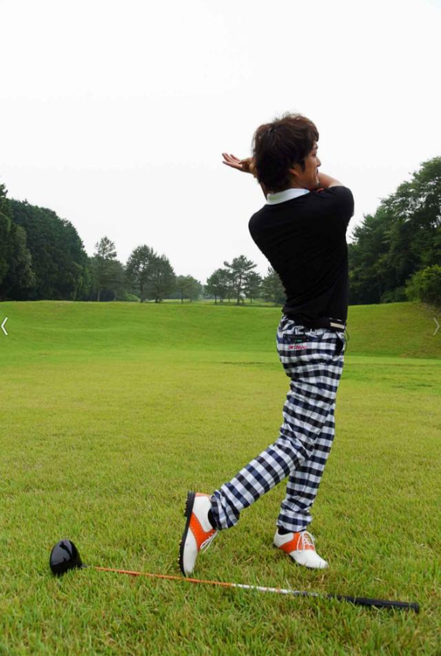画像5: 「杖ドリル」で正しい体重移動を身につける! ジェイソン・デイの同級生、秘密のドリル