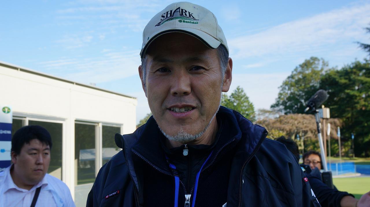 画像: グリーンキーパーの室田浩さん