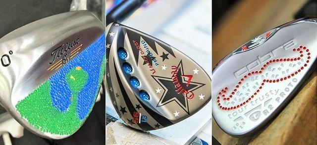 画像: PGAツアー選手のバックフェースは色とりどり jp.pgatour.com