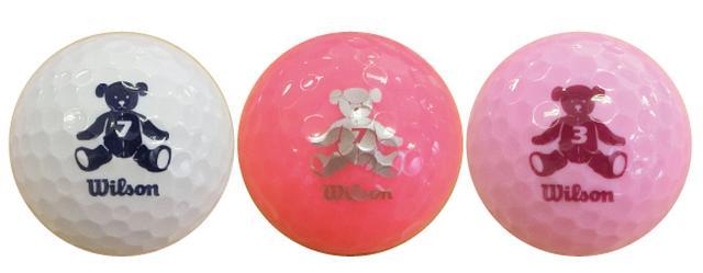 画像: 左からホワイト・ピンク・ラベンダー