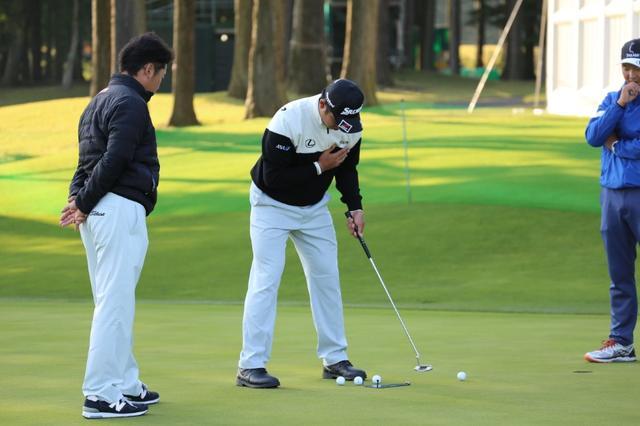 画像: 1時間1本【ライン】勝負! 松山英樹の「足跡」 - みんなのゴルフダイジェスト