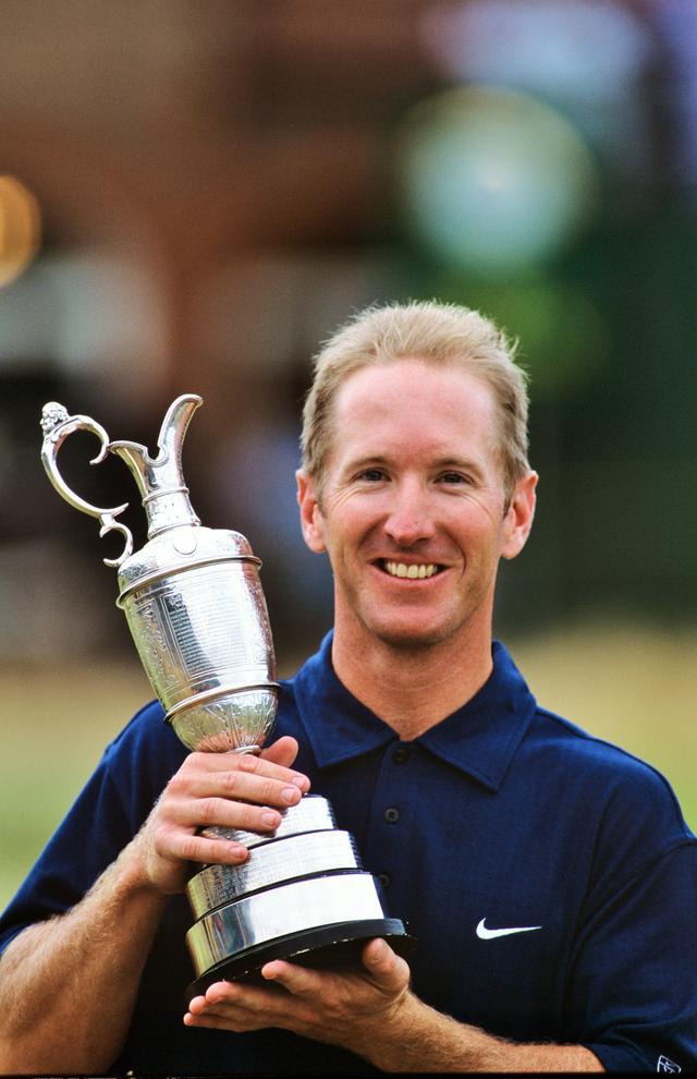 画像: 2001年「全英オープン」は、タイガーの連覇が期待されていたが、3日目まさかの失速。終始安定したゴルフを見せたデュバルが勝利した。