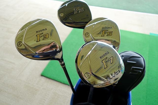 画像: 「RYOMA F」は番手によってソールに刻まれた数字が変わる。これ、セルフで回るときにコースでわかりやすくて良さそう