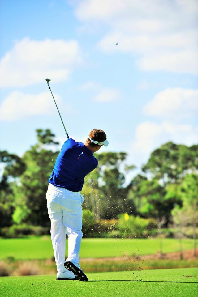 画像: 「球筋を操ってこそゴルフは楽しいんだ」とルークはいう。