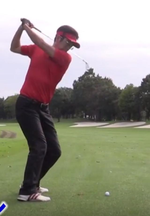 オーバー スイング ゴルフ