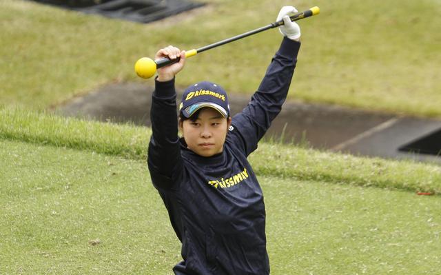 """画像1: 「ボミと笠と回ったあの娘は誰?」武尾咲希の""""最初の一振り"""" - みんなのゴルフダイジェスト"""