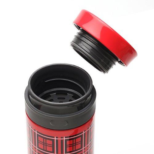 画像: Amazon|aladdin ステンレス タンブラー 0.3L レッドチェック 073-31190|水筒・マグボトル オンライン通販
