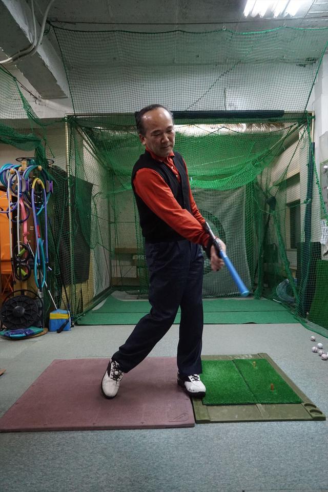 画像7: 自作練習器具「キャロッシー」ってなんだ?【レッスン散歩・新宿インドアゴルフ編】