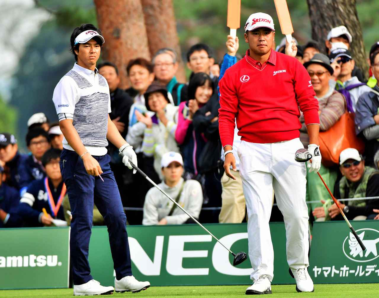 画像: 今月開催されるワールドカップで日本代表としてペアを組む松山・石川