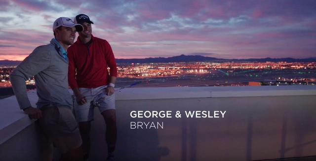 画像: 左が兄のジョージ。右が弟のウェズリー。元々は「ユーチューバー」だったが、ウェズリーがたしかな実力でPGAツアー出場権をもぎ取り、大きな話題となった www.youtube.com