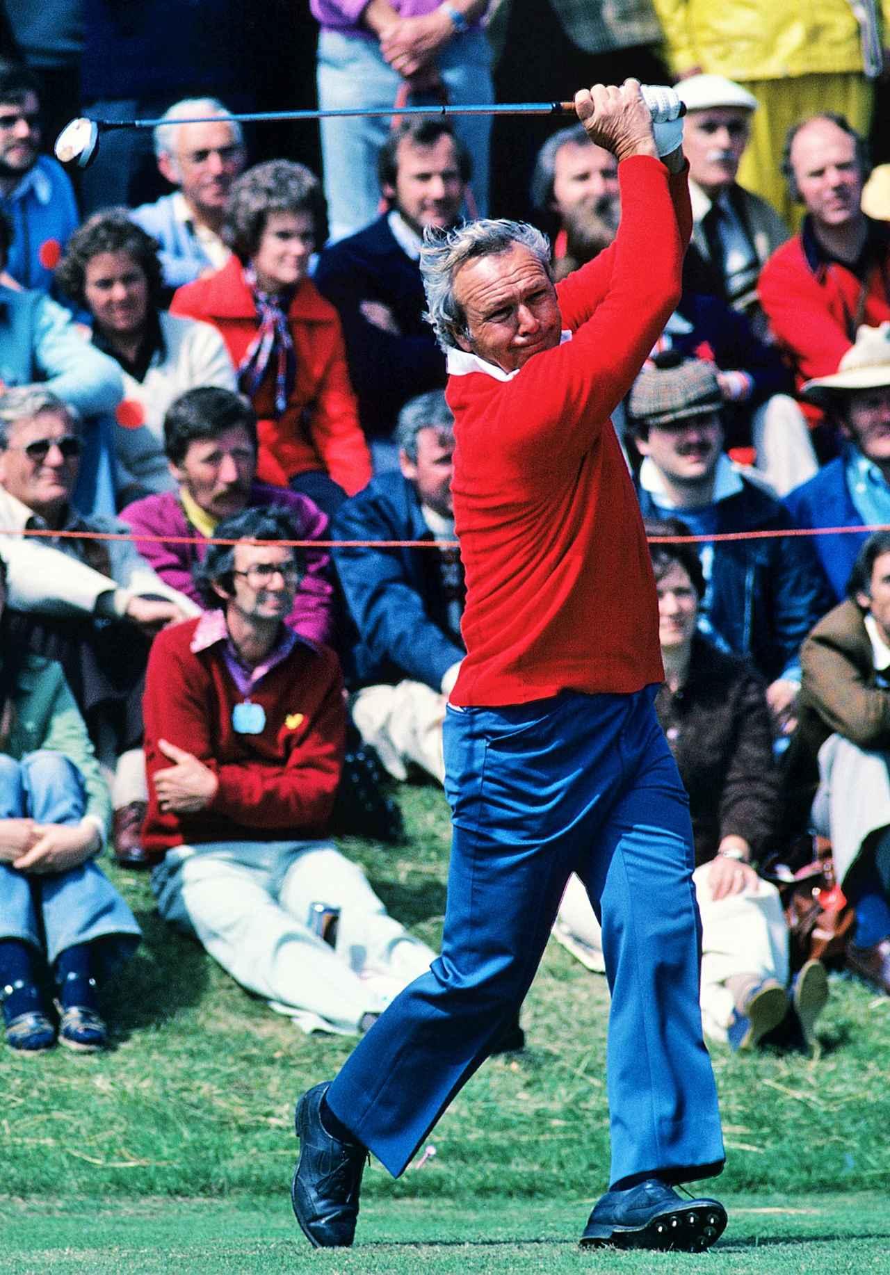 画像: アーノルド・パーマーは、変則的なスウィングで、全米ツアー62勝を誇った。