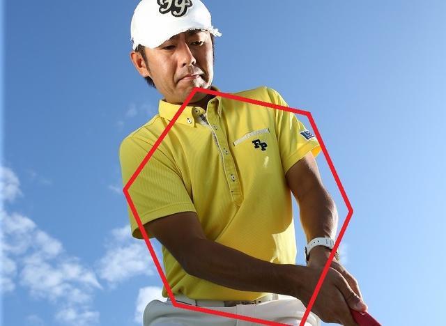 画像: 「ナイスイン!」の秘密です。「六角形」の振り子ストローク - みんなのゴルフダイジェスト