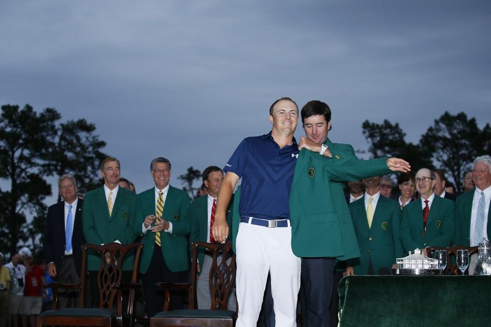 """画像: 2015年、マスターズと全米オープンを制し、年間王者にも輝いたスピースはゴルフ界屈指の""""セレブ""""だ"""