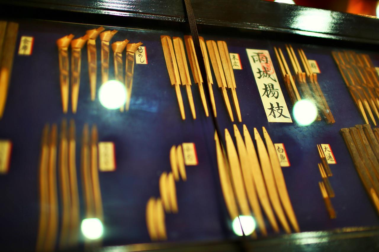 画像: 久留里名産の『雨城楊枝』。千葉県の指定伝統工芸品だったりもします