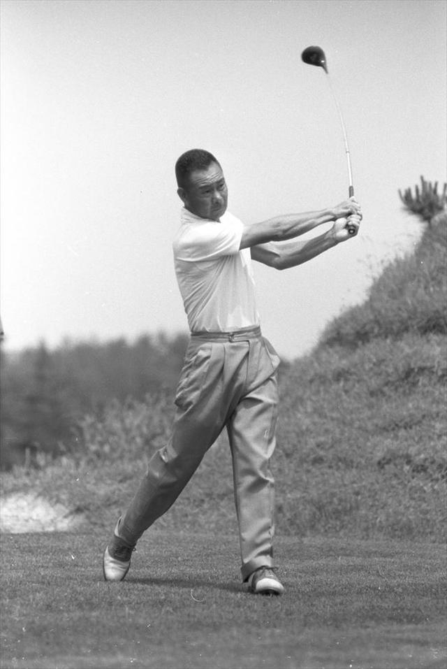 画像: 初優勝は1948年の関東プロ、その後日本プロ4勝、日本オープン2勝など戦後の日本ゴルフ界の復興期を支えた林由郎