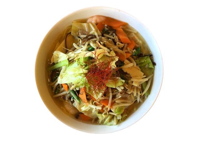画像: 野菜たっぷりタンメン