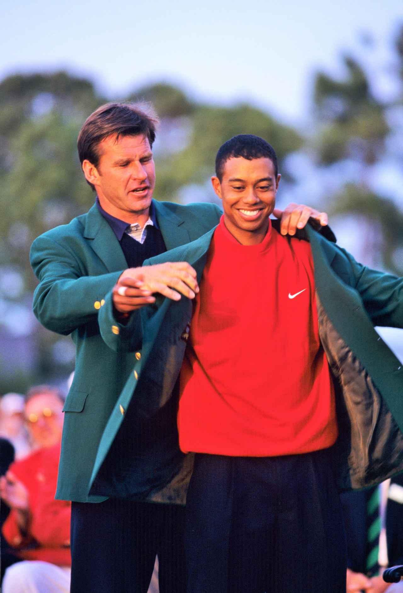画像: 1997年、史上最年少で「マスターズ」を制し、その2カ月後に世界ランク1位になった