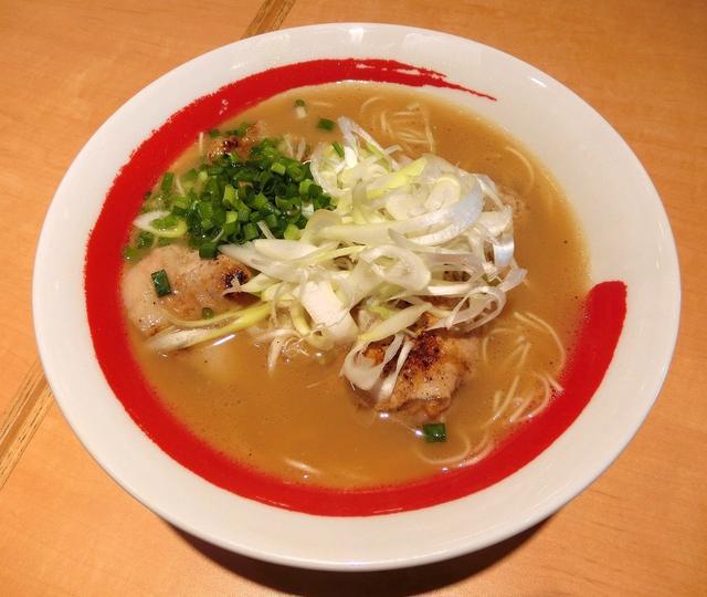 画像: 炙りとちぎゆめポークとんこつラーメン 980円