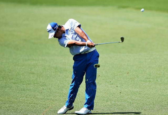 """画像: 優勝をたぐり寄せた、松山英樹の""""ドンピシャ""""アプローチ - みんなのゴルフダイジェスト"""