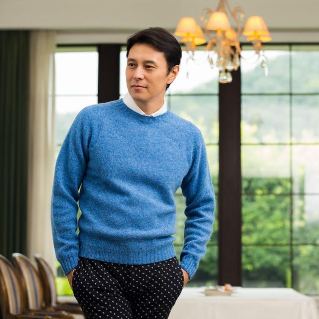 画像: 【週ゴル別注】スコットランド製 セーター|ゴルフダイジェスト公式通販サイト「ゴルフポケット」