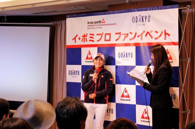 画像: 質疑応答もすべて日本語で。とっても上手になりました