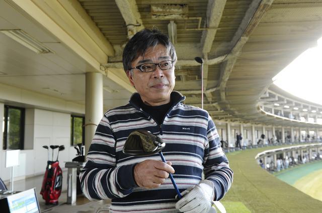 画像: RSのスウィートスポットの広さを評価した石井さん