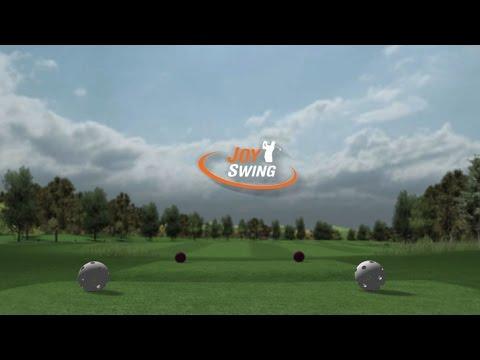 画像: 「家庭用シミュレーションゴルフ JOY SWING(ジョイ スウィング)」 www.youtube.com