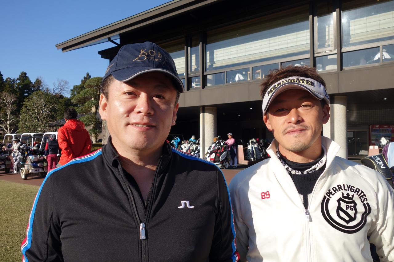 画像: 見事、堀江氏との「ラウンド権」をゲットした池田さん(写真右)
