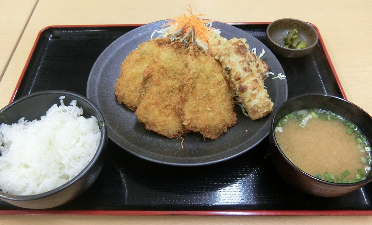 画像: いわしフライ定食 700円