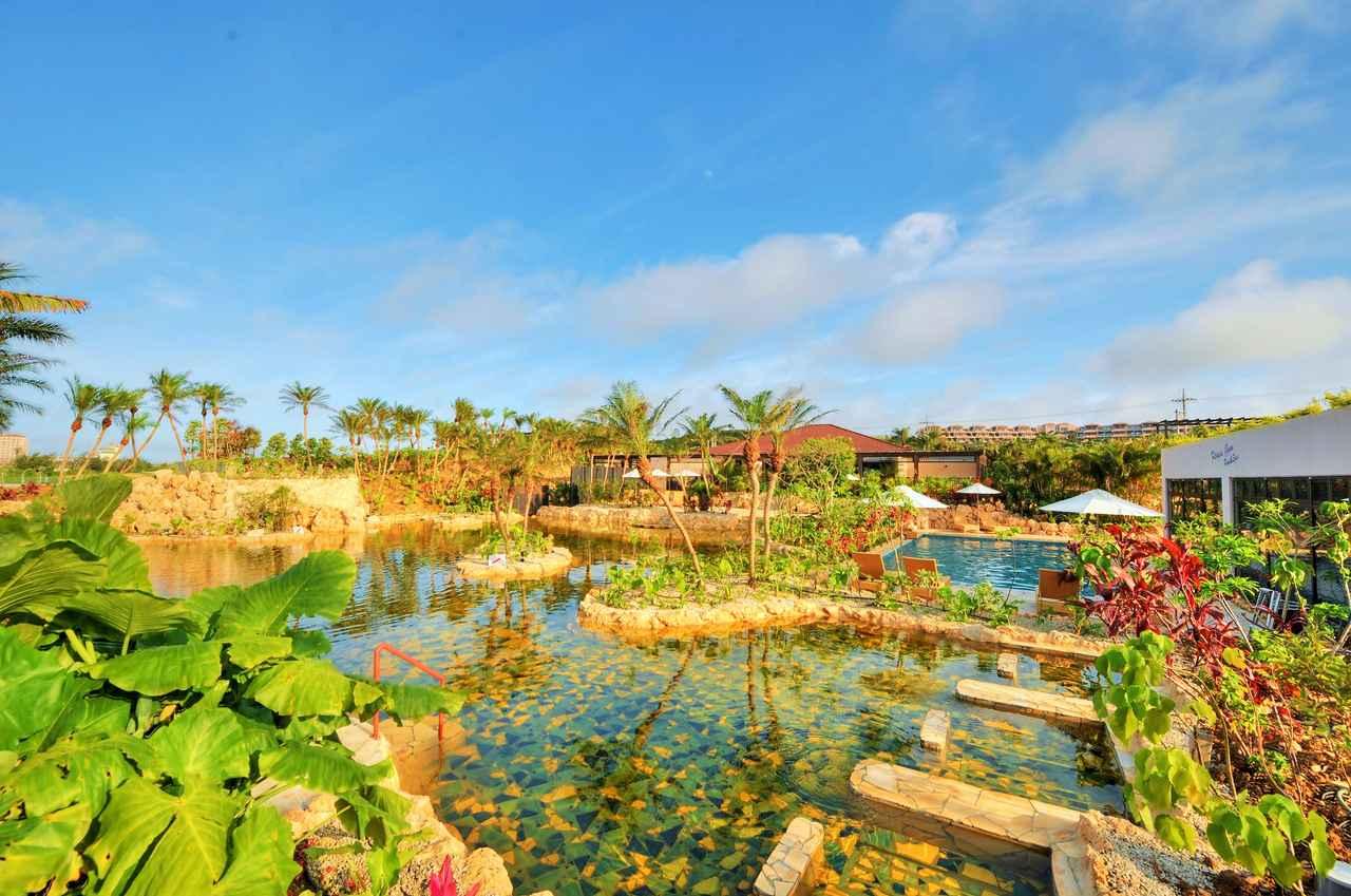 画像: 日本最南端で最西端の温泉、シギラ温泉