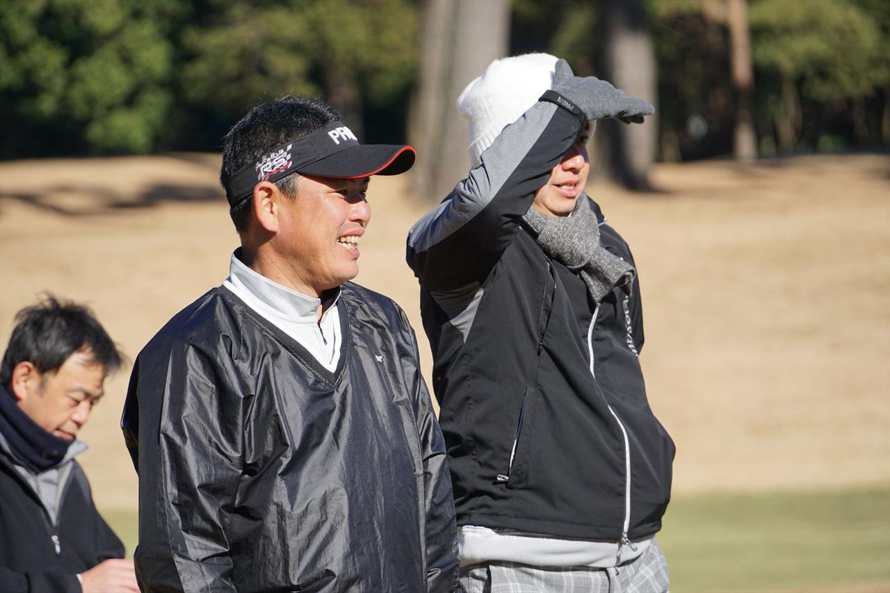 画像: 「アイアンマン」平塚哲二をうならせるアイアンを放つ参加者