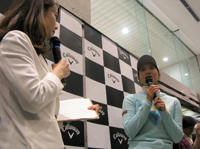画像: 藤田光里のトークショー全部見せます。「シードぎりぎり」だけど得るものたくさんあった!