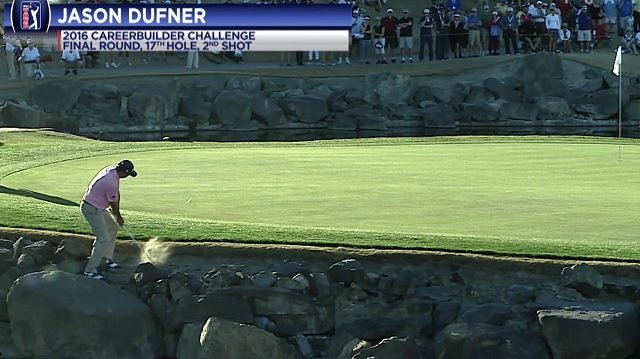 画像: 6位ダフナー「しっかり握って、(通常より)シャフトを少し傾けて打った。正直、入ると思った」 - PGAツアー