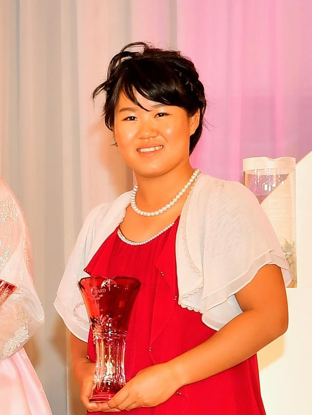 画像: 畑岡奈紗は、LPGAアワードで敢闘賞を受賞した