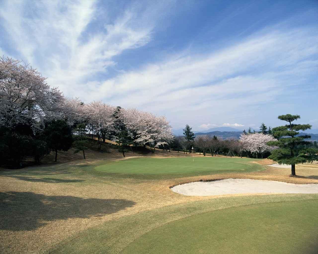 画像: 富士山を見ながらプレーできる平塚富士見CC