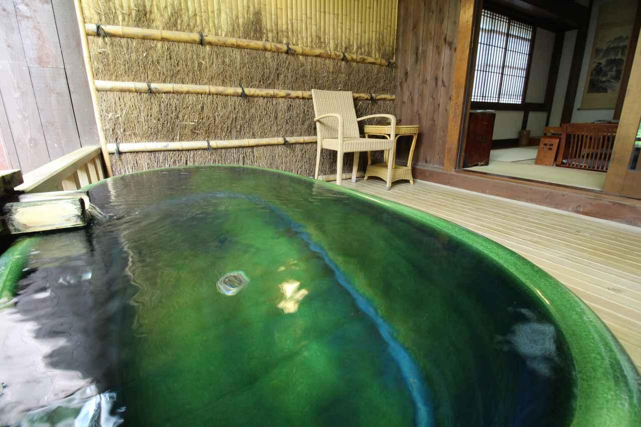 画像: 個室についているお風呂