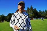 画像: 田村は黄色のティを愛用している
