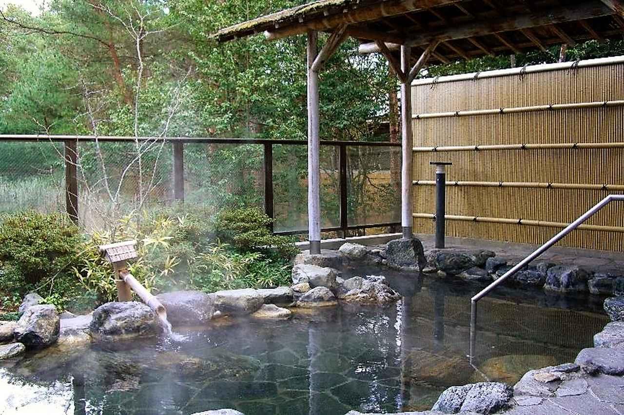 画像: 作州武蔵カントリー倶楽部の露天風呂