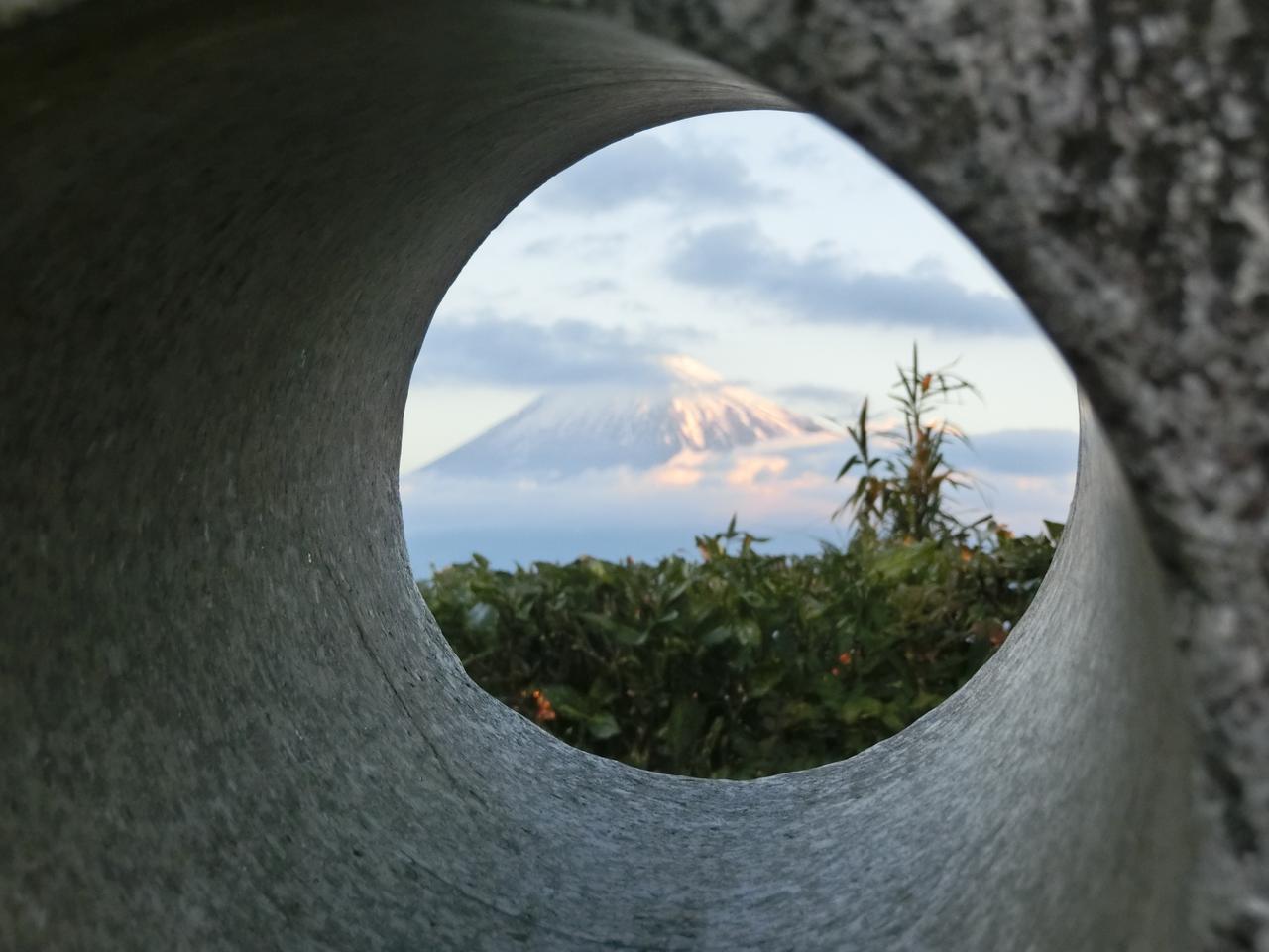画像: 富士山だけを切り抜いてみることができる
