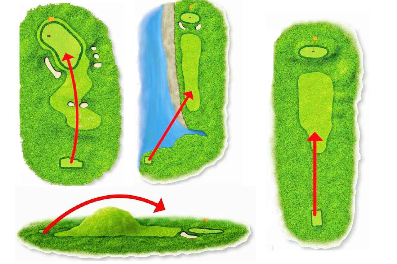 画像: 世界のホールは全部これ? コース設計「4パターン」を知っておこう - みんなのゴルフダイジェスト