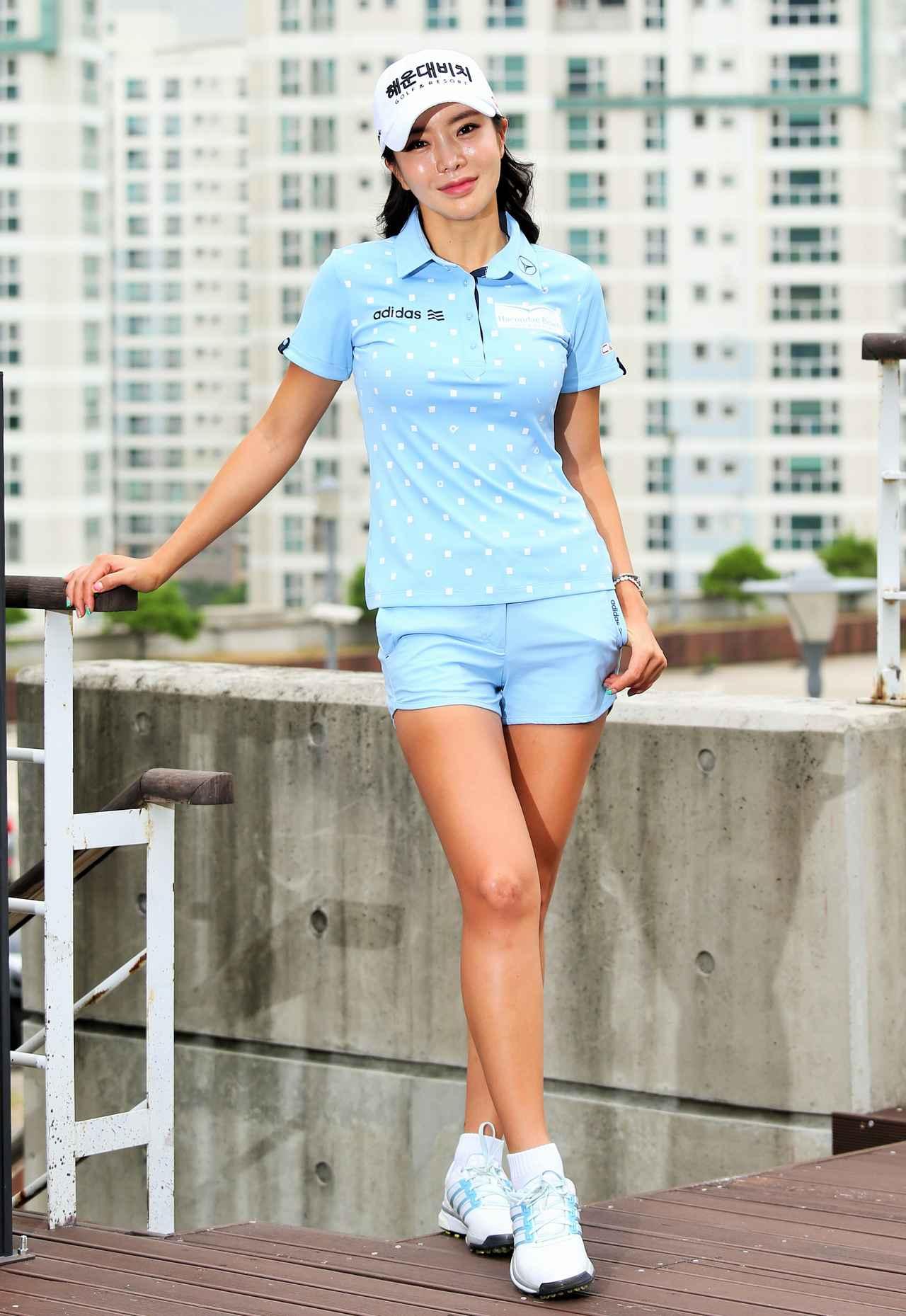 画像: アン・シネは、韓国が誇る「もっともセクシーなプロゴルファー」