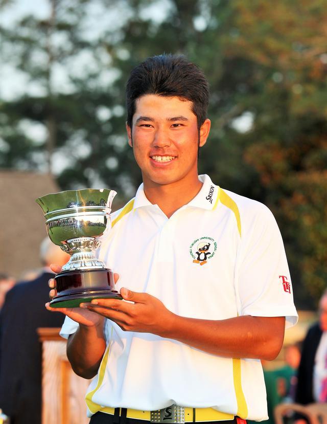 画像: 2011年「マスターズ」で松山は27位に入り日本人初のローアマチュアに輝いた