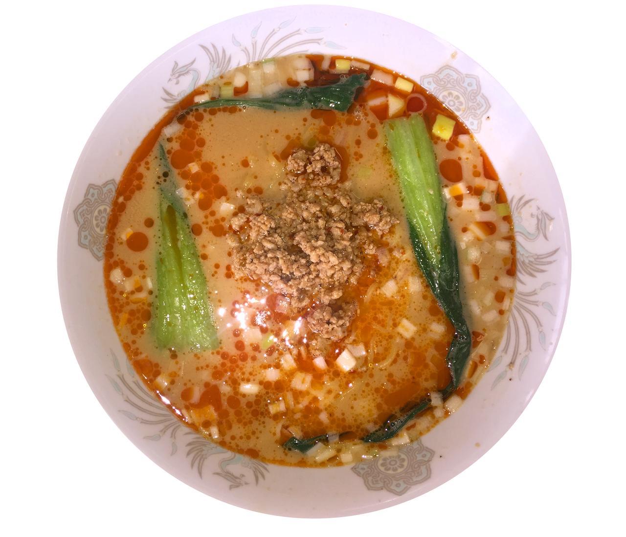 画像: 坦々麺 1200円