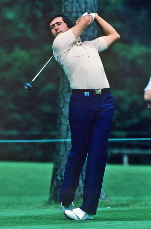 画像: ガルシア憧れのゴルファーはスペインの英雄セベ・バレステロス
