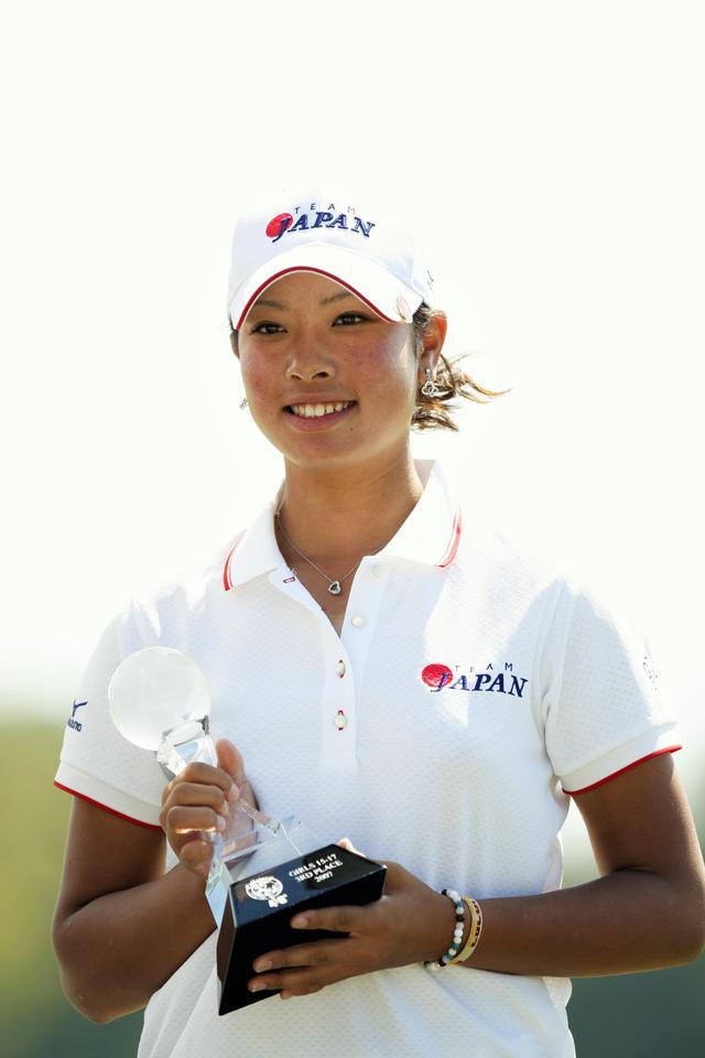 画像: 2007年「世界ジュニア」女子15~17歳の部で2位タイ
