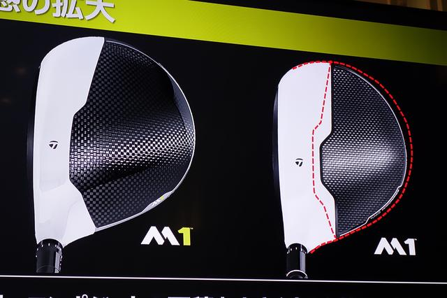 画像: 発表会プレゼン資料より。左が新M1、右が旧M1